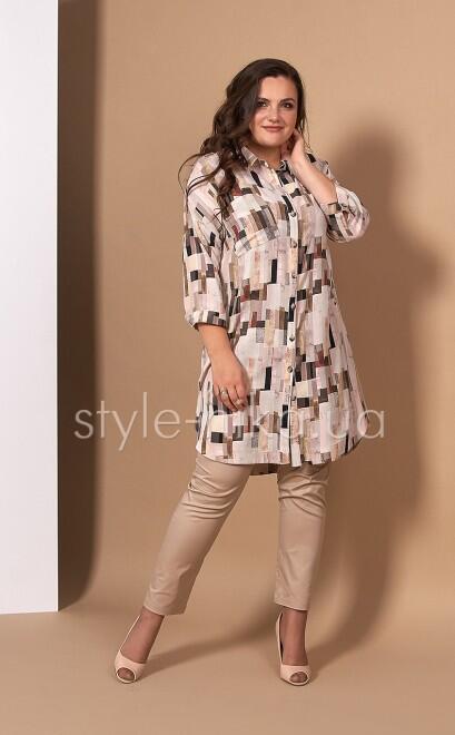 Платье - Рубашка  Баролла